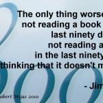 Jim Rohn on Reading a Book