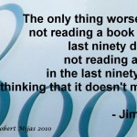 Jim Rohn on Reading a Book