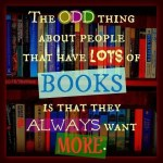 The Odd Thing about reading