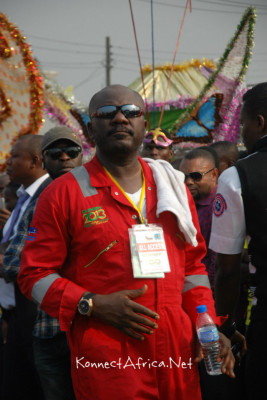 Remember this Guy? Dr. Sam Dede, erstwhile Actor and now the Director-General, The Rivers State Tourism Development Agency (RSTDA) - the Brain behind the successful organisation of the CarniRiv. Kudos to Him and his Team.