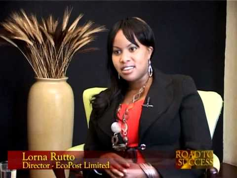 Lorna Rutto Recycling Trash to Cash