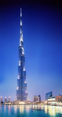 Burj Khalifa, Dubai; The World's tallest building @ 828m [2717ft]