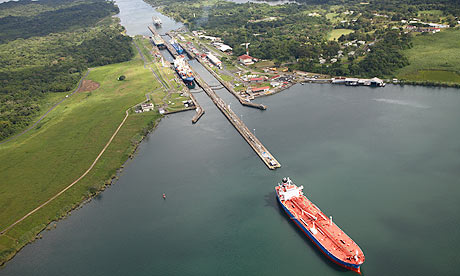 The Panama Canal. Credit: theguardian.com