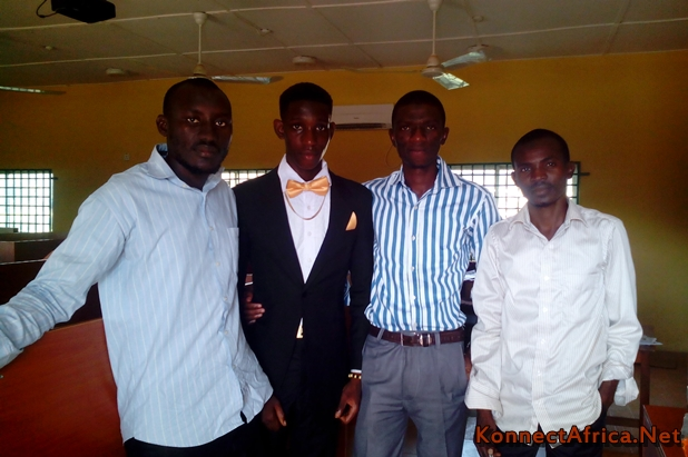 Digisphere Elegbede Rahman: 2nd right,; Ishola Abdulkadeer: 1st right.