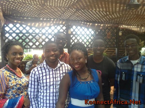 L-R :Jennifer Nkem-Eneanya, Frank Addai, Charles Mensah, Mabel Blankson, Naa Achere, and Umar Nazir.