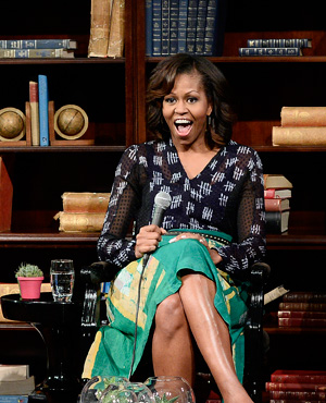 Michelle Obama in Maki Oh