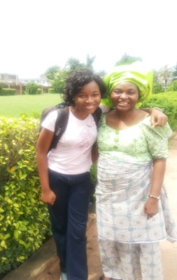 Marion Itohan Odigie with her Mum, Mrs Lovinah Odigie is an Amazing Nigerian Woman