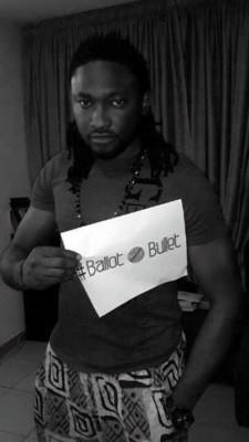 Uti joins the Campaign #BallotNotBullet