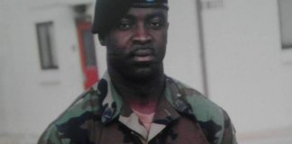 US. Army Sgt. Francis Aduoffei