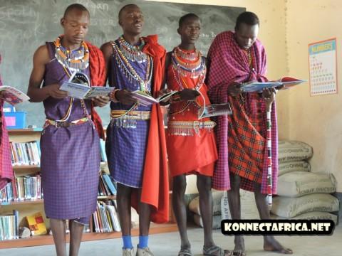 The Kenyan library