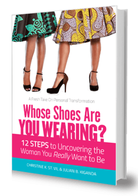 """""""whose shoes are you wearing"""" book"""