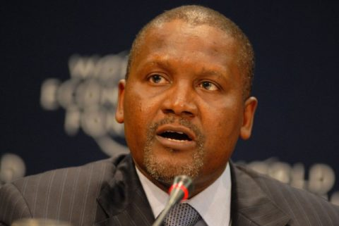 Aliko Dangote Multiple Streams of Income
