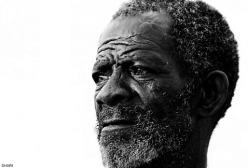 old man in Africa
