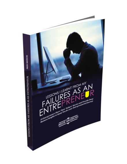 Lessons from failures as as Entrepreneurs
