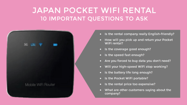 How to Create a Japan Travel Budget - Pocket Wifi Rental