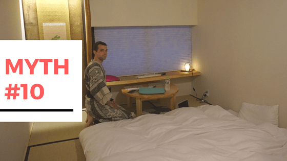 11 Myths Busted About Travelling to Japan - Myth #10 - Will I have to sleep on the floor?