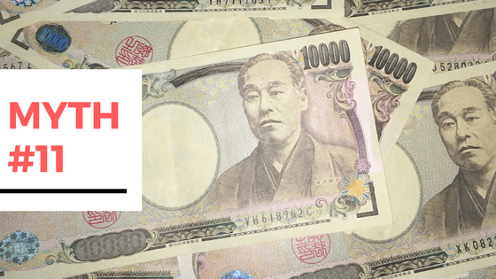 11 Myths Busted About Travelling to Japan - Myth #11 - Will I need cash in Japan or can I use my credit card?