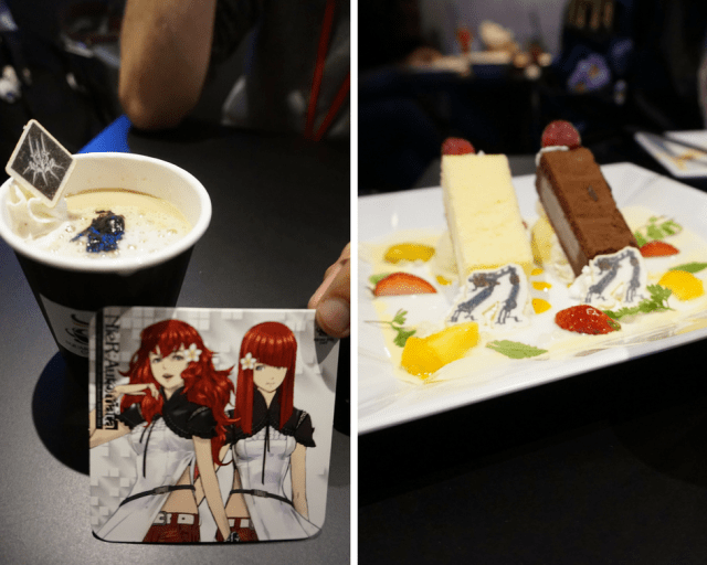 10 Must Visit Places in Akihabara, Tokyo for Anime Lovers - Square Enix Cafe - Square-Enix-Cafe-Nier-Automata-Food-and-Drinks