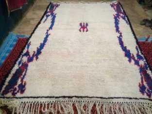 زربية تقليدية بالصوف البلدي