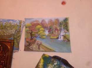 رسم تشكيلي مواهب فنيه اعمال يدويه