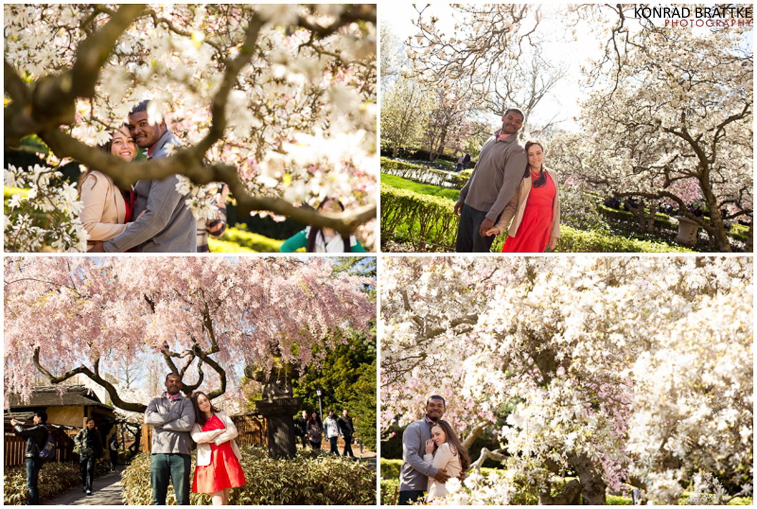Brooklyn Botanic Garden Photoshoot BK Photographer