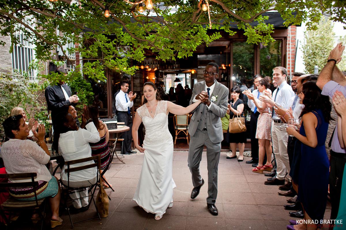 Brooklyn Restaurant Wedding At Bacchus Bistro