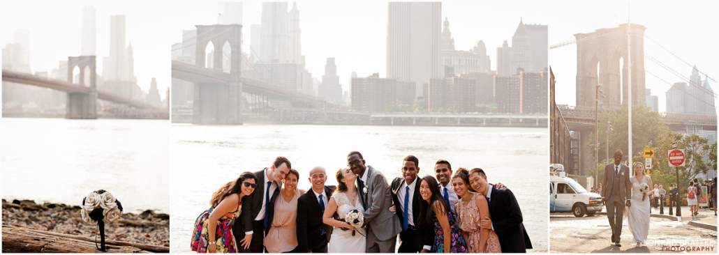 Bacchus Bistro Wedding Brooklyn Photographer