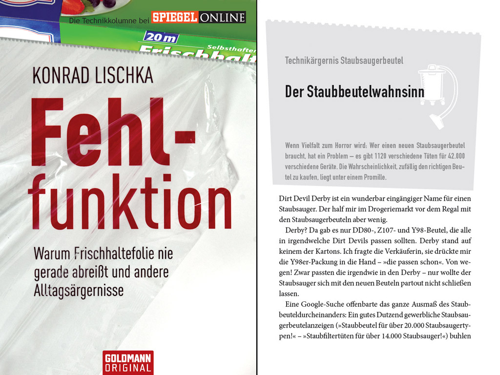 Cover Fehlfunktion