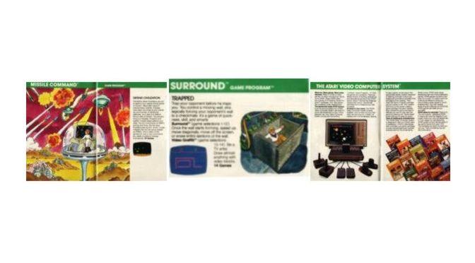 Atari VCS Katalog von 1981