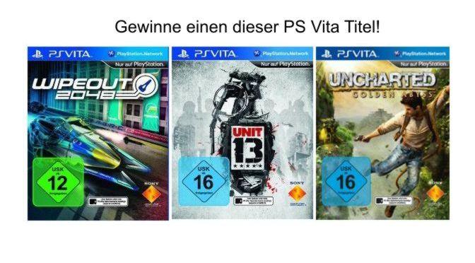 Gewinne PS Vita Spiele