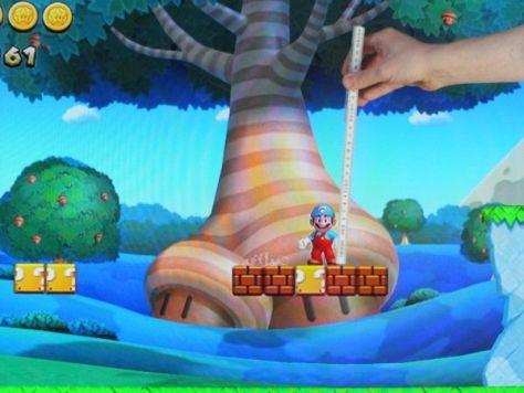 Mario an der Wii U mit gewaltigen 8 Zentimetern Größe
