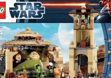 """Lego gibt nach - neue Verpackung für """"Jabbas Palace"""""""