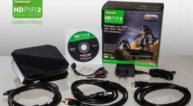Hardwaretest: Hauppauge HD PVR 2 Gaming Edition Plus