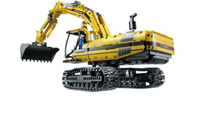 Lego Technic 8043 – Raupenbagger
