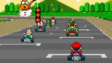Mario Kart SNES01_konsolenfan
