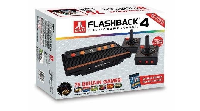 Atari Flashback 4 - alte Pixel in neuer Verpackung