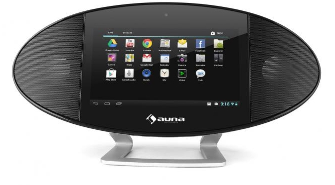 Hardwaretest: Auna Swizz Mediacenter - das Runde steht auf dem Eckigen
