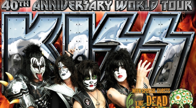 KISS 40th Anniversary World Tour am 03.06.2015 in Berlin