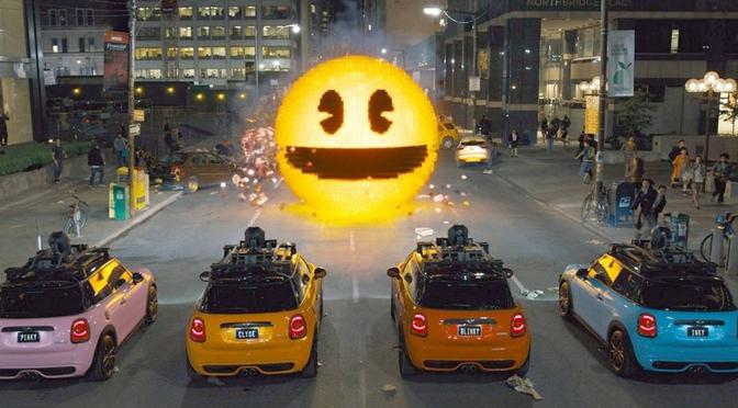 """Pixels – Der Film: """"Pac-Man ist böse?"""""""
