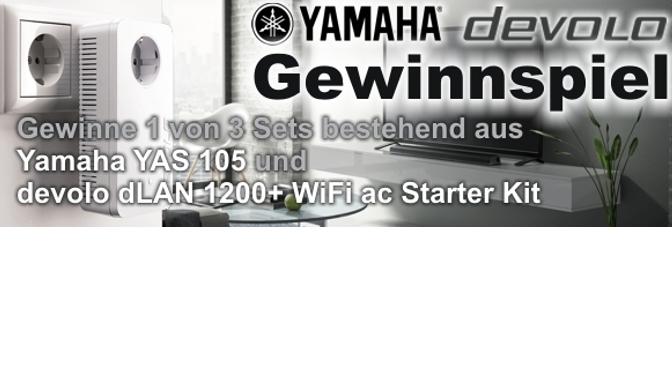 Yamaha & devolo Gewinnspiel
