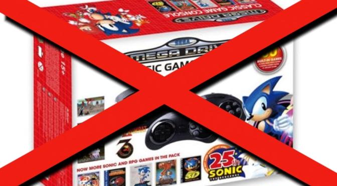 Sega veröffentlicht Mega Drive Classic - NICHT!!!