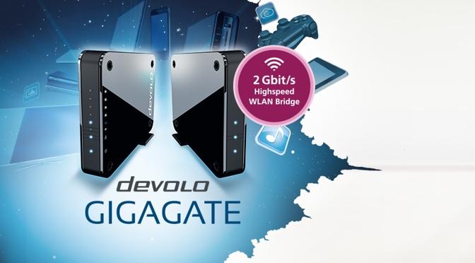 Hardwaretest: devolo GigaGate - Internet im Hier und Dort