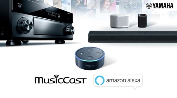Yamaha MusicCast hört aufs Wort mit Amazon Alexa Sprachsteuerung