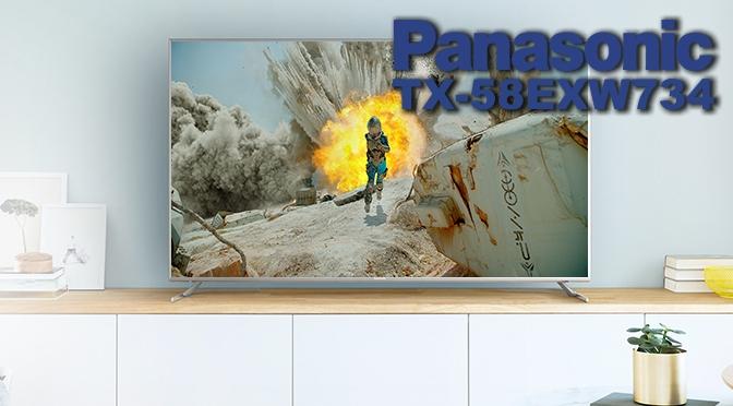 Hardwaretest: Panasonic TX-58EXW734 Viera – wenn grau zu schwarz wird