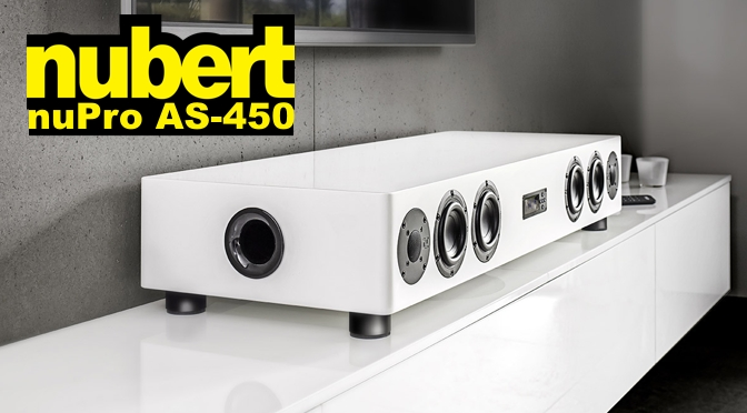 Hardwaretest: nubert nuPro AS-450 – der Soundbrocken unter den Soundbars