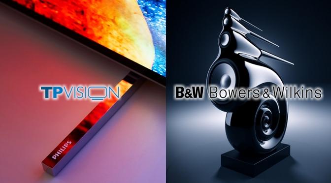 TP Vision und Bowers & Wilkins geben Partnerschaft bekannt