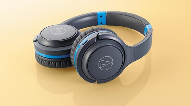 Audio-Technicas portabler Kopfhörer ATH-S200BT