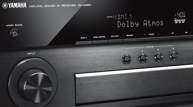 Yamaha AVENTAGE AV-Receiver RX-A680 und RX-A880 – Heimkino-Power