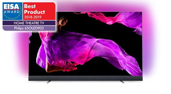 Philips OLED-TVs 55OLED803 und 65OLED903 erzielen Doppelsieg