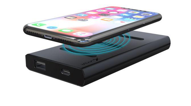 neue XLayer Powerbank with Dock 6000mAh für Qi-fähige Smartphones verfügbar